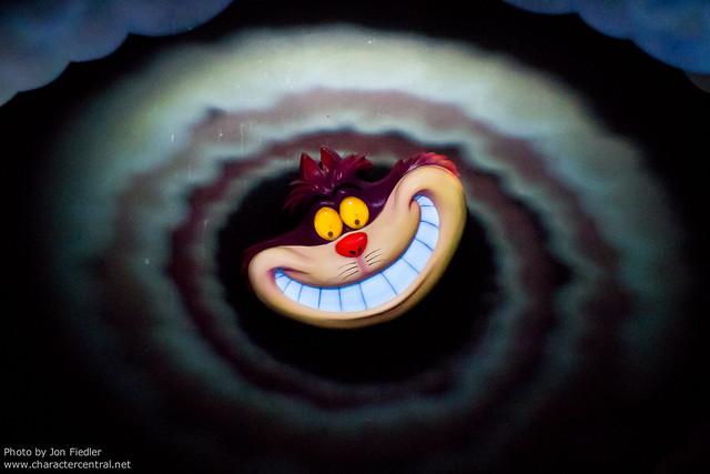 Disneyland Aug 2010 - Riding Alice in Wonderland