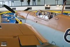 G-USTV - 10639 - RAF Museum - Messerschmitt Bf-109G2 Trop - 080203 - Hendon - Steven Gray - IMG_7014