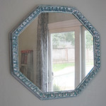 DIY Silver Leaf Mirror