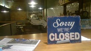 Saddest thing in Soho