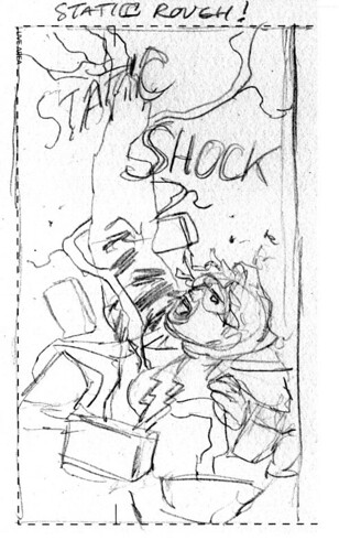 static shock coloring pages | JH Williams III - News, Gallery, and Original Comic Art ...