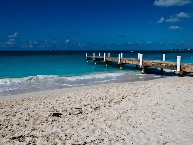 Beach in Turks & Caicos. - Flickr CC digitizedchaos