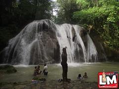 La  cascada los bueyes  de  Villa Trina