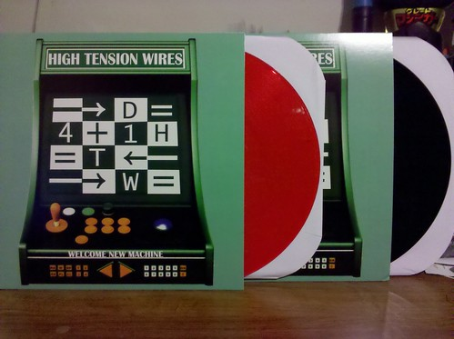 High Tension Wires - Welcome New Machine LP - Red Vinyl /200 & Black Vinyl