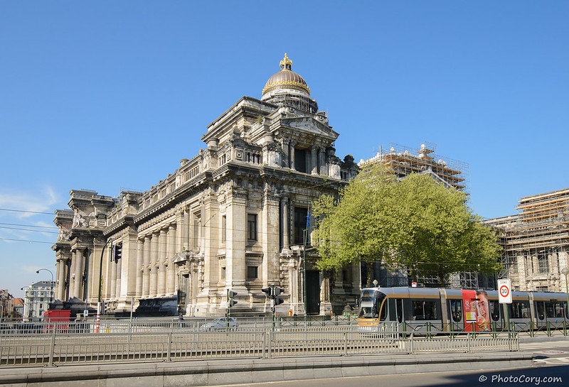 Justice Palace in Brussels