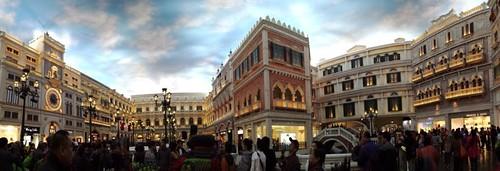 Macau The Venetian panorama
