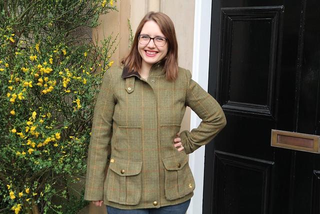 Joules tweed jacket