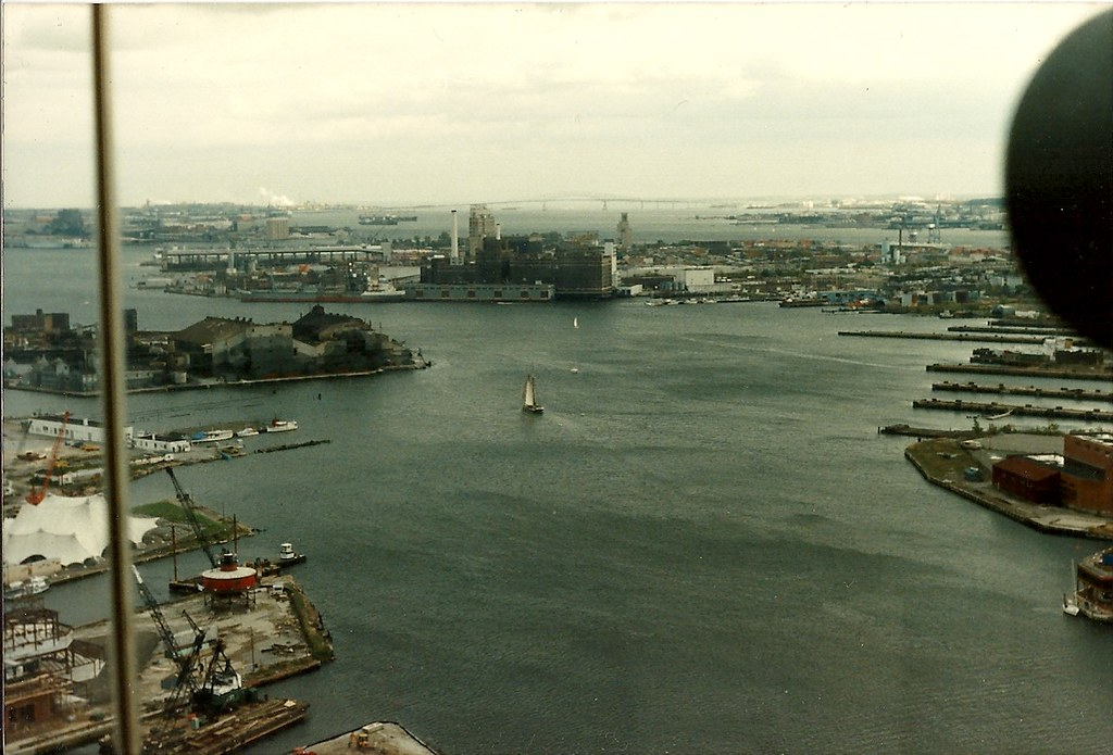 Baltimore In The 70s Before Inner Harbor Was Redeveloped ...