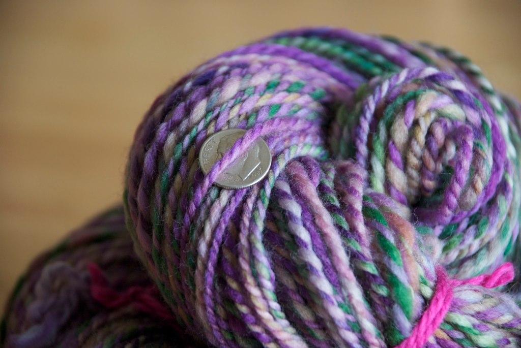 purple rain- woolen