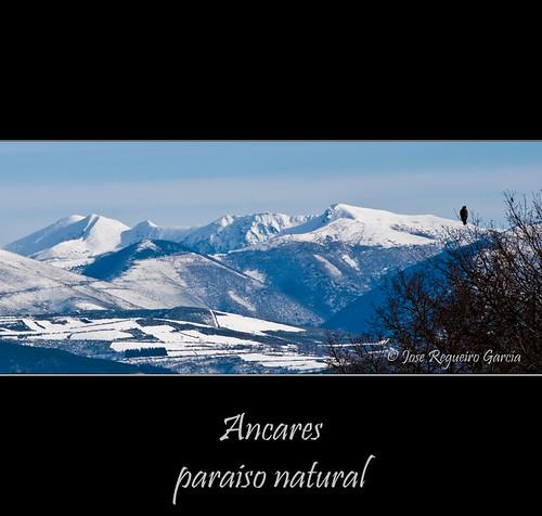 mountain snow landscape nieve paisaje galicia montaña lugo ancares