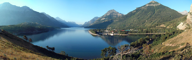 Waterton panorama
