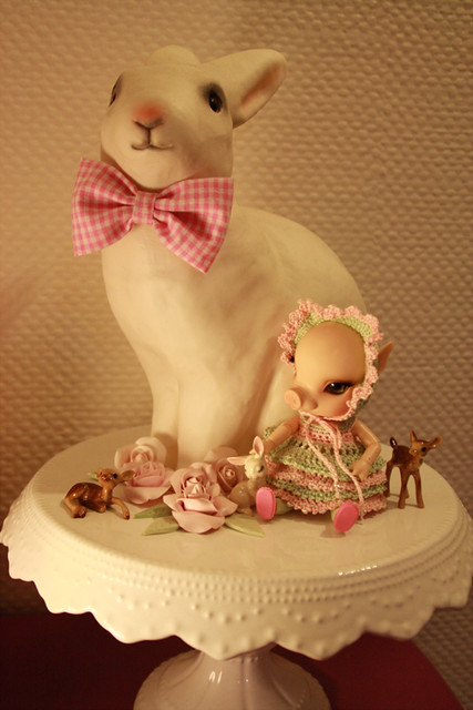 NOUVELLES PHOTOS de Sacha en bas de P1 (BJB cochon Elf Doll) 5424166837_06e084e0da_z