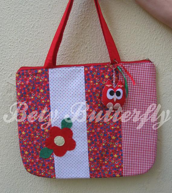 Bolsa De Tecido Para Notebook : Bolsa de tecido para notebook patchwork com chaveiro co