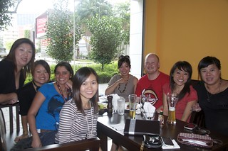 Lunch with the SG Sales team
