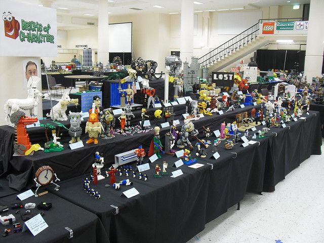 Bricks of Character at BrickCon 2010