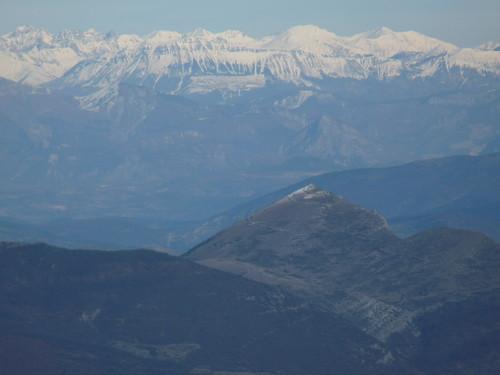 au centre Montagne de Bergiés