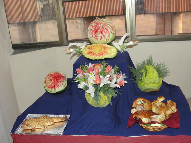 Fruit carving display flickr photo sharing