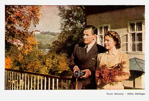 Paula Wessely, Attila Hörbiger