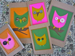 Stitched Up Owl Moleskine Journals