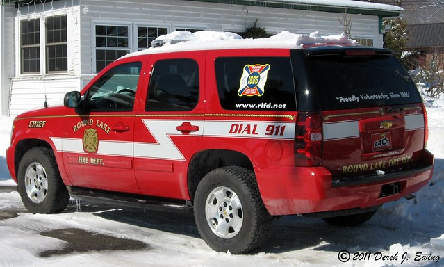 Round Lake, NY Fire Department - Chief 540