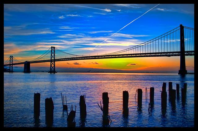 Bay Bridge Pre-sunrise