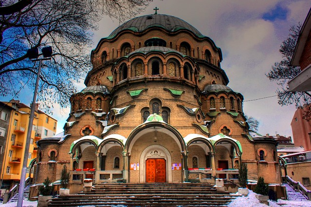 The biggest church in Sofia - Flickr CC klearchos