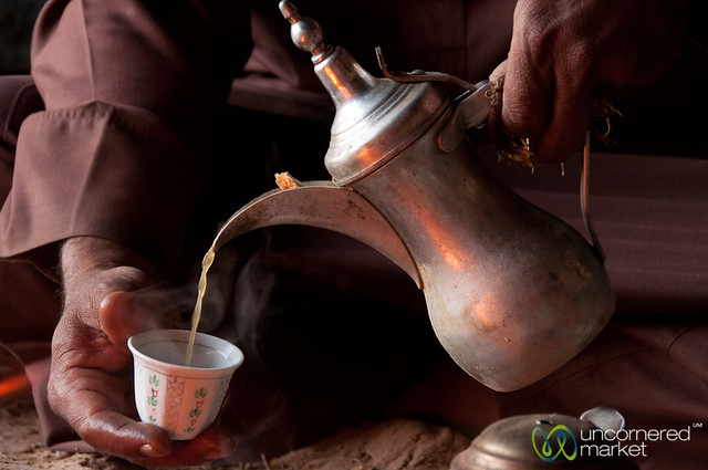 Arabic Coffee Traditions - Wadi Rum, Jordan
