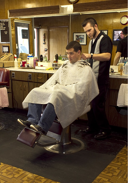 Barber Shop Minneapolis : 7th Street Barbers A series of photographs of Barbers and ...