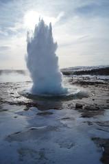 Strokkur eruption 2