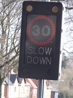 Slow Down 30 - Swanshurst Lane