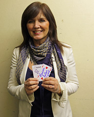 Actress and singer Maureen Nolan supporting Great Ormond Street Hospital for children