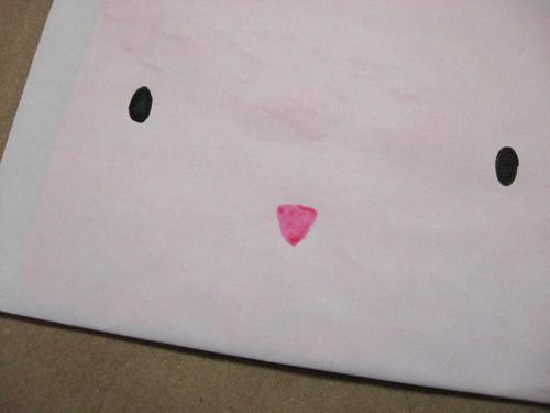 Envelope de Coelho de Páscoa