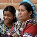 Madre e hija en la Fiesta del pueblo; Joyabaj, El Quiché, Guatemala