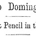 Frank Leslie's Illustrated Newspaper - Santo Domingo Headline