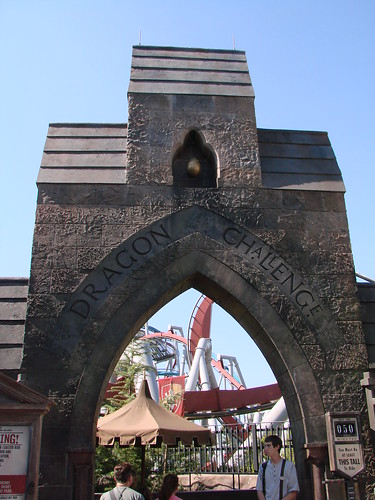 Dragon Challenge Ride