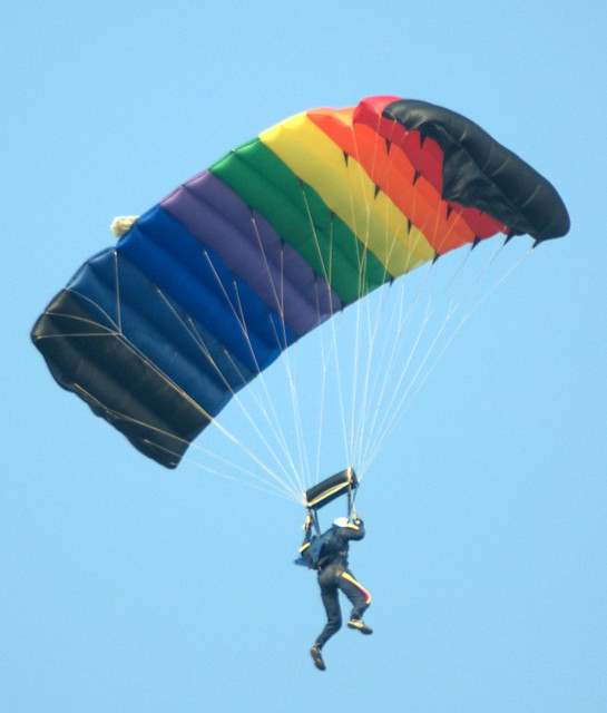Rainbow Chute from Flickr via Wylio