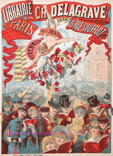 Librairie Delagrave 48x63 Camis by estampemoderne