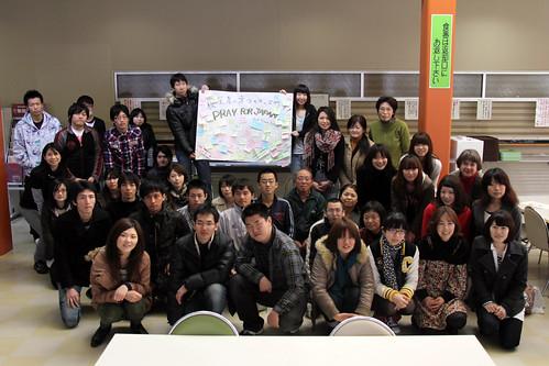 20110404災害ボランティアチーム「Keiwa HOPE」