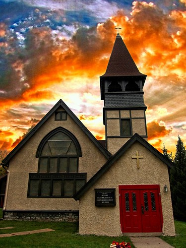 "autumn sunset sky orange house ny tower church leaves st parish architecture clouds see downtown state gothic style landmark historic historical notable 18 must johns episcopal attraction marcellus ""new 1830 york"" county"" onasill ""onondaga"