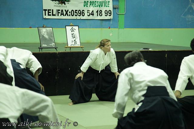 Micheline-TISSIER-VAILLANT 6e dan Aikikai de Tokyo
