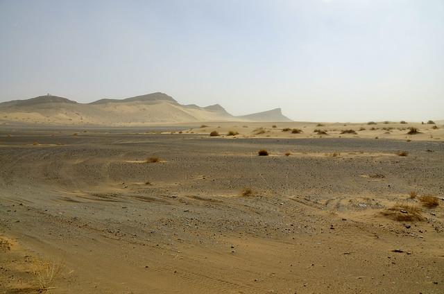 Llegando al desierto de dunas de Erg Chebbi