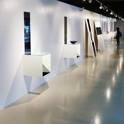 青山にある、伊藤忠アートスクエアにて開催中の『江戸切子若手職人10人展』は、11月6日まで。