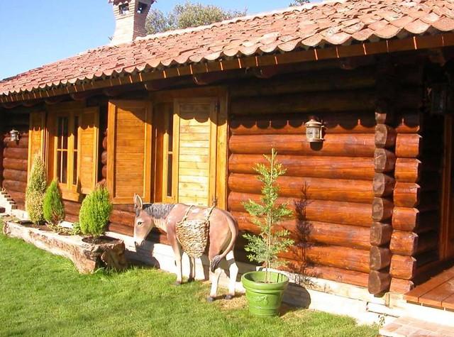 Casas de troncos de madera xii flickr photo sharing - Casas troncos de madera ...