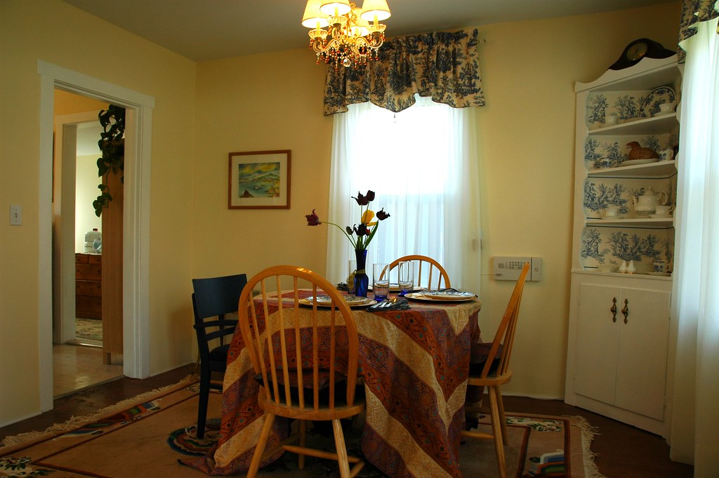 French Country Hobbit Makeover Dining Room Chandelier