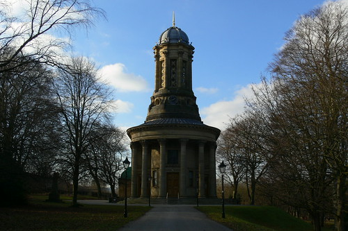 Saltaire church.