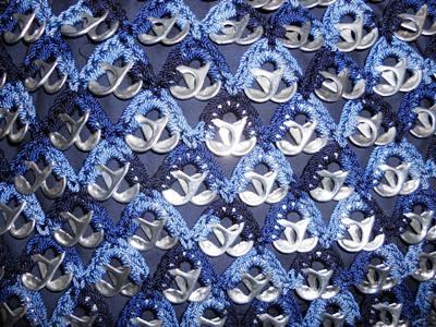 Bolsas Tejidas Con Fichas De Aluminio