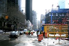 New York City, Lower Manhattan, Vesey St./ Church St. (Ground Zero)