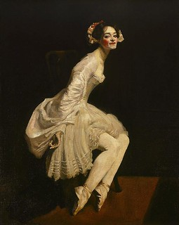 Ballet dancer in costume  (1911)