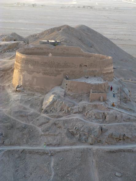 Zoroastrian Tower of Silence (dakhma) - Yazd, Iran ...