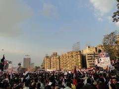 Demonstration in Tahrir Square Feb 8